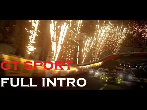 GT Sport Full Intro