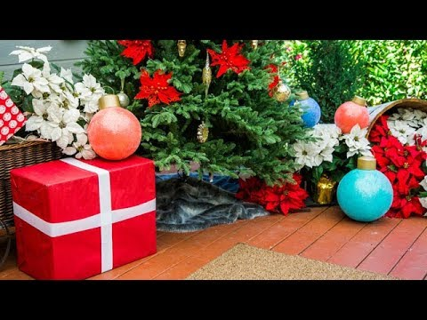 DIY Oversized Christmas Ornaments - Home & Family