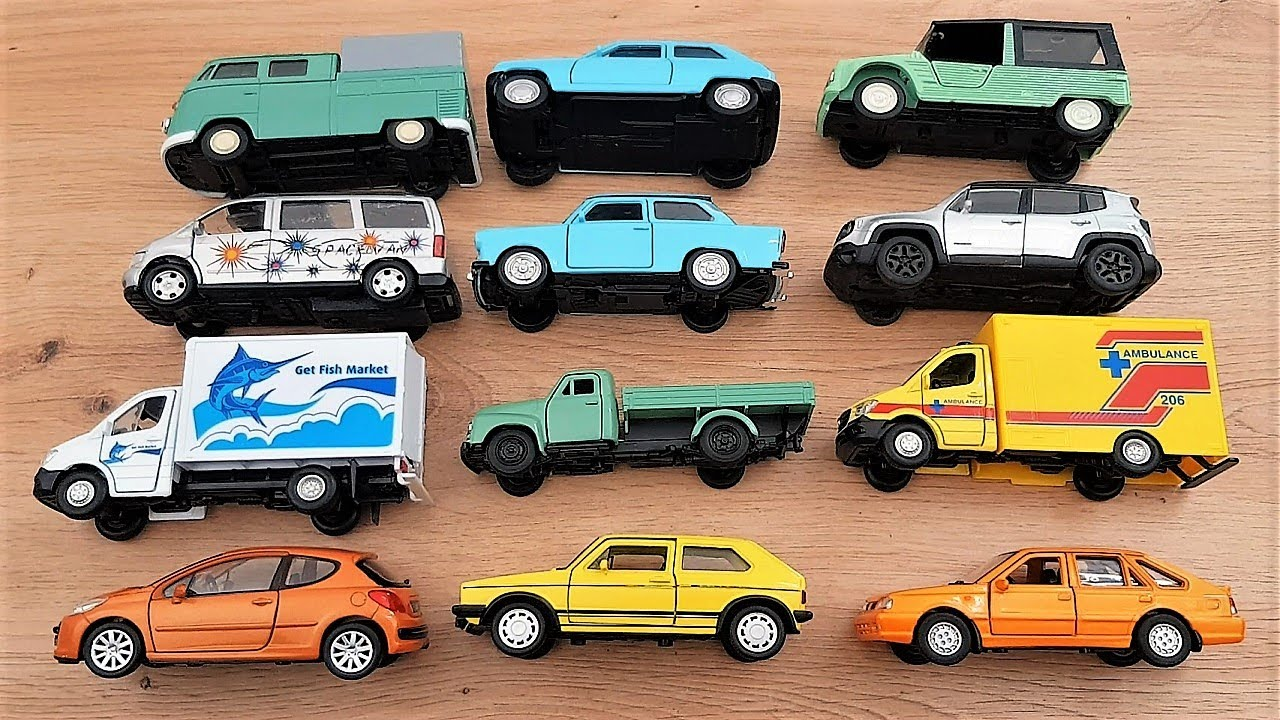 12 pieces of Welly car models