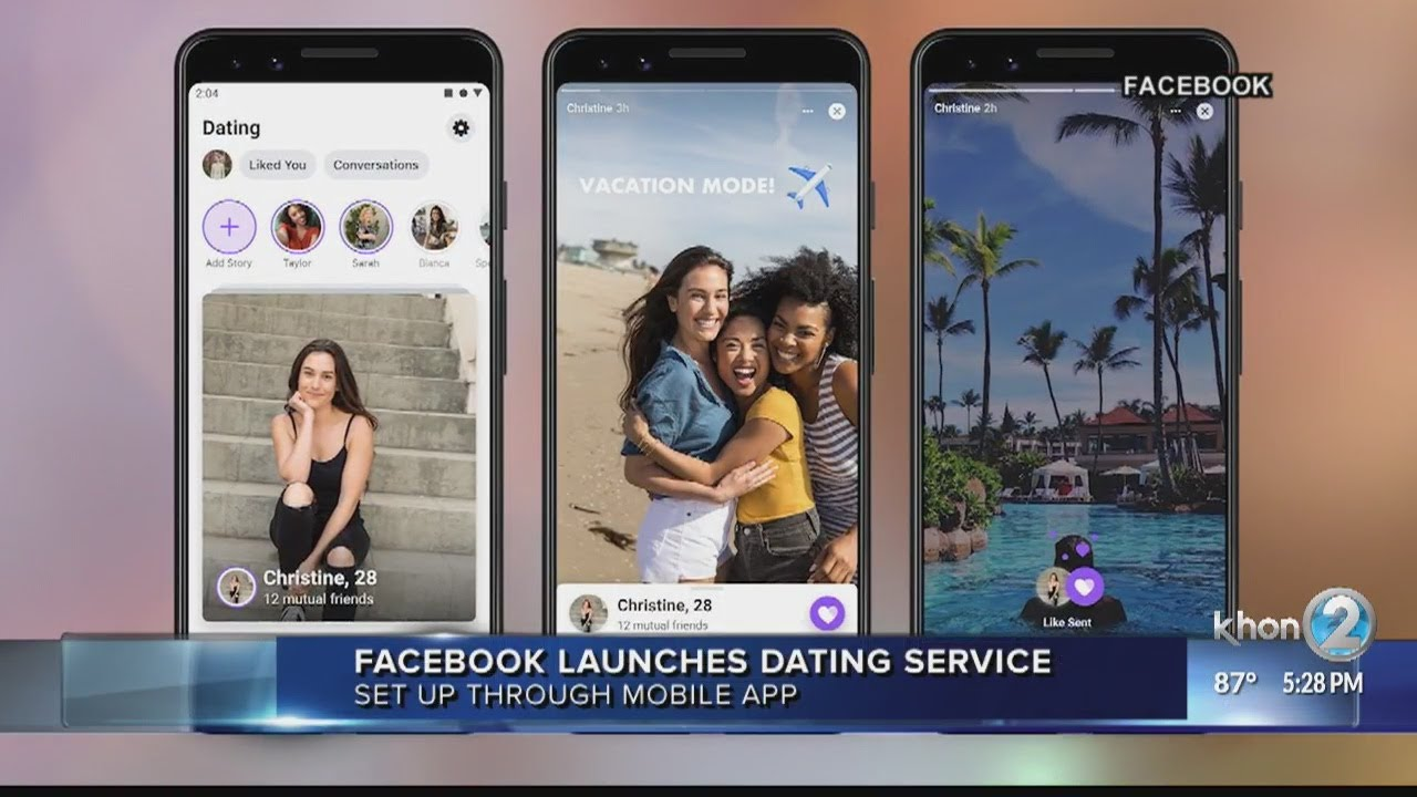 Facebook launches dating app in the US
