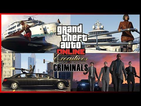 GTA 5 ONLINE ITA PS4 - Tutti I Contenuti Del DLC: DIRIGENTI E CRIMINALI [ITALIANO]