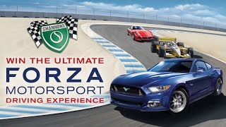 WIN the Ultimate Forza Motorsport Driving Experience