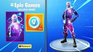 I Got the GALAXY SKIN for FREE in Fortnite... (Galaxy Skin PS4 Unlocked)