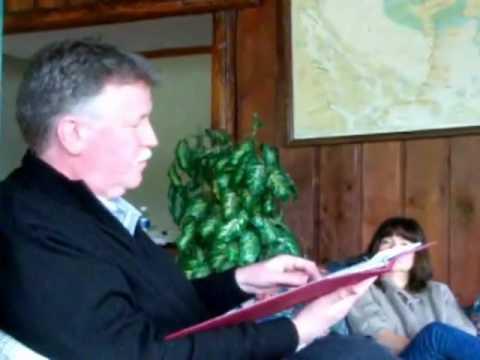 2010 SFU Mystery Writers' Retreat, Salt Spring Island: Michael Slade