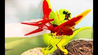 ЛЕГО Динозавры мультики для детей. Возвращение Индоминус  Рекса–1 серия: Новая армия Гибридов
