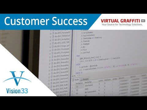 Case Study: Virtual Graffiti Success Story with SAP Business One & Vision33