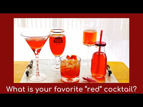 5 Valentines Drinks: cocktails and non-alcoholic