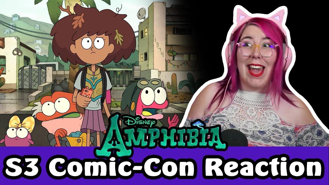 Download ANNE IS BACK?!?! - AMPHIBIA AT COMIC-CON 2021 Sneak Peek REACTION - Zamber Reacts