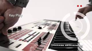 Casio XW-G1 Synthesizer Features Video