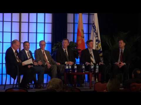 The Shake Out from Shifting Ocean Carrier Alliances panel at 2017 JAXPORT Conference