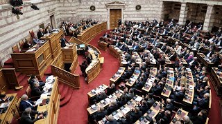 Ομιλία Κυριάκου Μητσοτάκη στη συζήτηση για την κύρωση της Συμφωνίας των Πρεσπών στη Βουλή