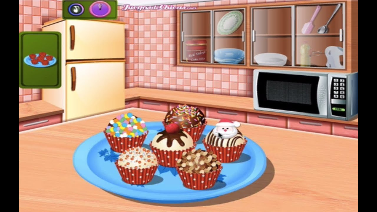 Bolas de pastel juegos de cocina con sara youtube - Juegos de cocina con sara paella ...