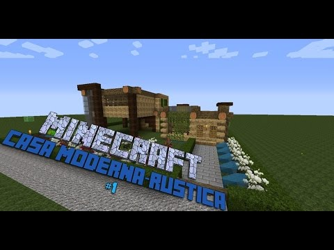 Full download minecraft como hacer una casa moderna for Como construir una casa moderna