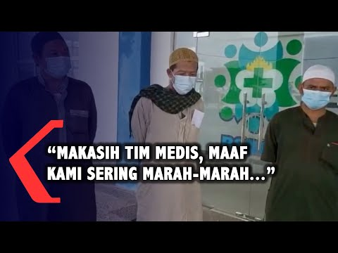 Pasien Sembuh Corona: Makasih Tim Medis, Maaf Kami Sering Marah-Marah...