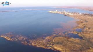 Дамба Цимлянского водохранилища. Волгодонск.