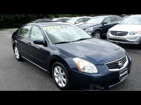 Lovely 2007 Nissan Maxima 3.5 SL Walkaround, Start Up, Full Tour And Overview
