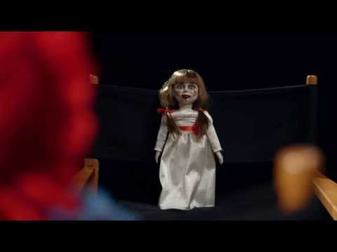 Exclusive  With The Annabelle Doll