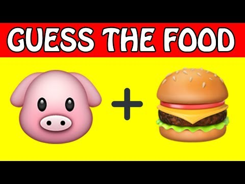 Can You Guess The Food By The Emoji ?   Emoji Challenge - Emoji Puzzles!
