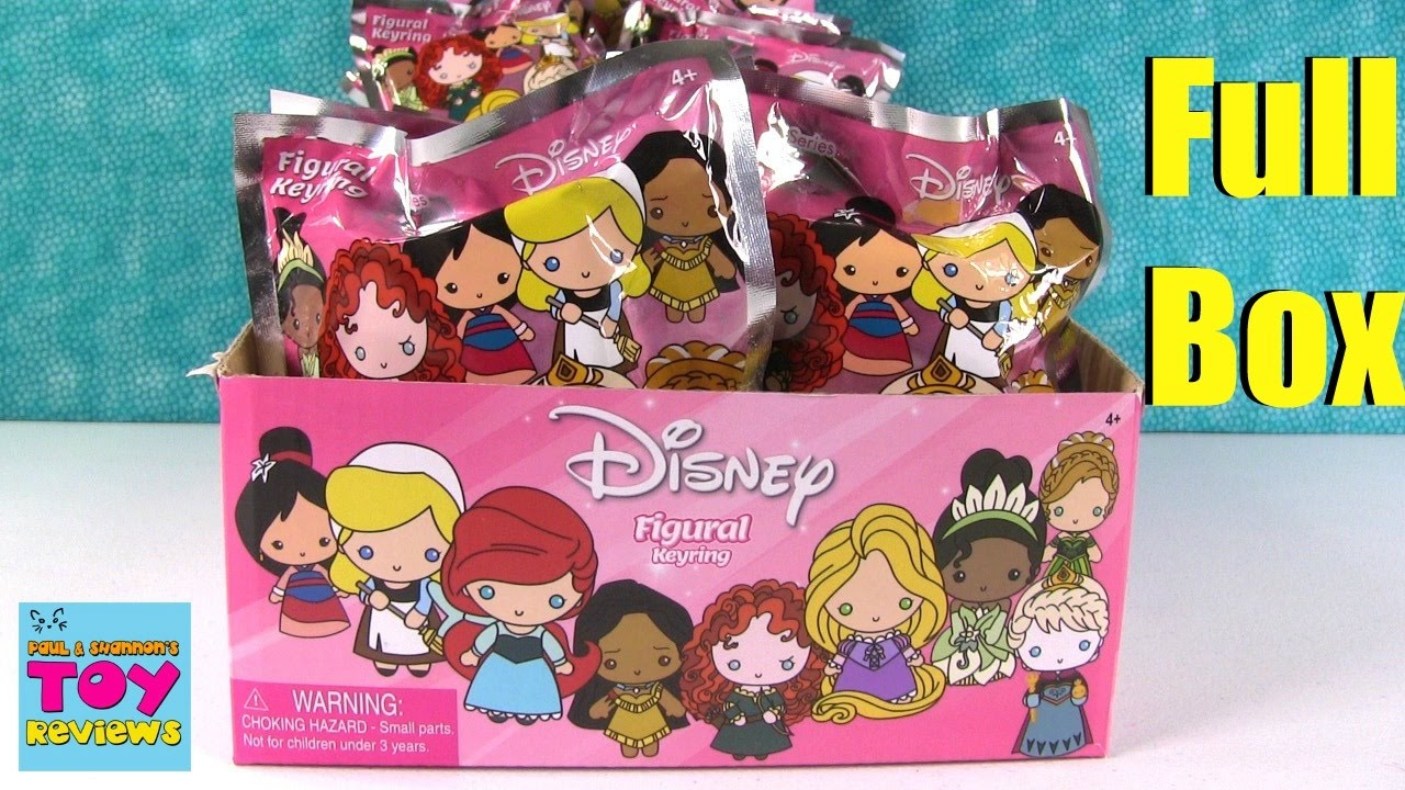 Disney Princess Series 7 Figural Keyring Blind Bag Toy
