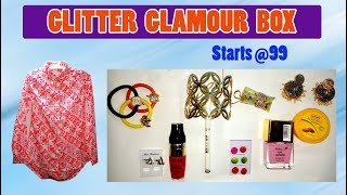 *New Glitter Glamour Box | First on YouTube | Affordable Box Starts from ₹99 | Unboxing & Review