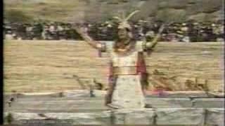 INTI RAYMI  El Sol dialoga con el Inca