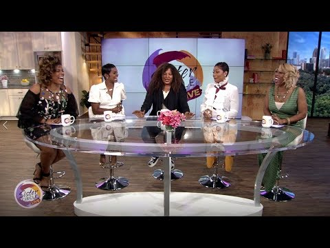 Sister Circle Live  Pam Grier Exclusive!