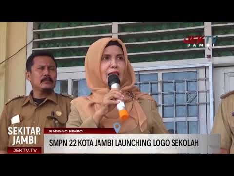 smpn-22-kota-jambi-launching-logo-sekolah