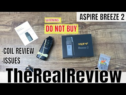 Aspire Breeze 2   1 Month User Review   Coil Review  