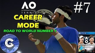Let's Play AO International Tennis | Career Mode #7 | Monte Carlo Masters | Round 2