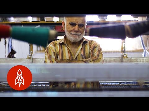 The Last Palestinian Kaffiyeh Maker