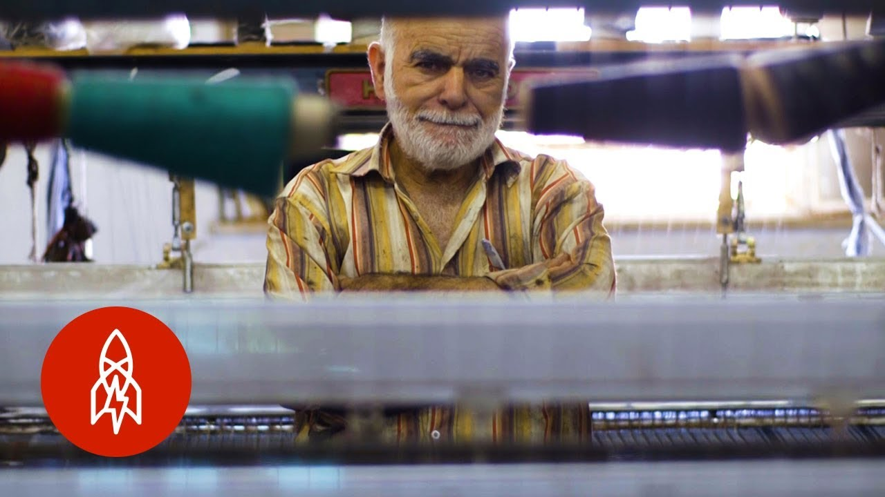 The Last Palestinian Kaffiyeh Maker