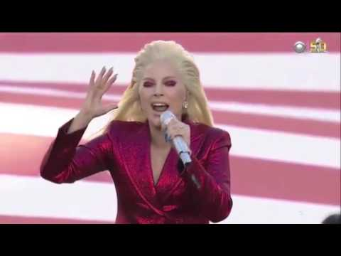 Lady Gaga vs. Whitney Houston Star-Spangled Banner Super Bowl
