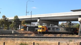 Mawson Lakes Rail & Bus Interchange Parafield Airport Northern Food Park Greater Adelaide video 2016