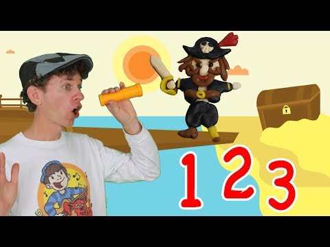Pirate Ship 1, 2, 3 Numbers Song   Counting Adventure   Learn English Kids