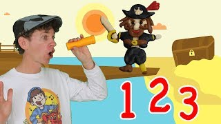 Pirate Ship 1 2 3 Numbers Song Counting Adventure Learn English Kids