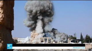 """تدمر: تنظيم """"الدولة الإسلامية"""" يدمر معبد """"بل"""" العائد للعصر الروماني"""