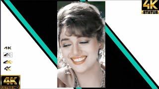 Udit narayan & alka yagnik full screen 4k status😍kisi din banoongi main hindi love status😍90s status