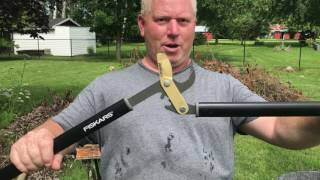 Fiskars Power Gear Titanium Bypass Lopper Branch and Brush Trimmer Product Review