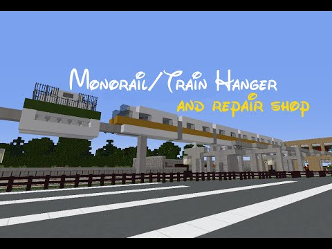 Full Download Minecraft Disney World Part 1 The Monorail