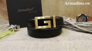 Thắt lưng cao cấp AL009| Armadino - Quý ông thịnh vượng
