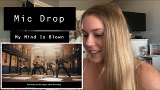 First Time Reaction to Mic Drop by BTS Ft. Steve Aoki MV and Dance Practice!