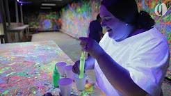 Splatter Box, an Oregon art studio, lets you throw paint at walls