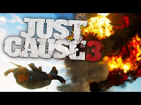 Just Cause 3 PC Gameplay - DEFEATING THE HARDEST BASE! Cargo Plane! (Just Cause 3 Funny Moments)
