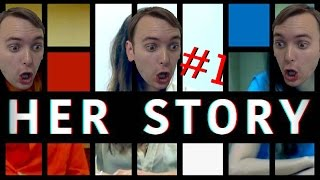 INTERACTIVE CRIME DETECTIVE MOVIE GAME - Her Story #1