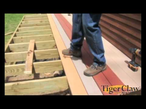 Installation Instructions For Evergrain Decking Youtube