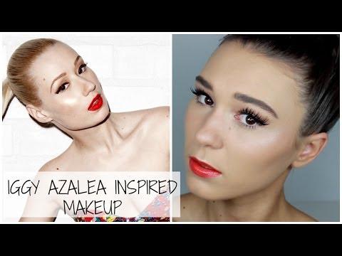 iggy azalea change your life makeup - photo #17
