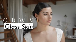 Glass Skin GRWM: Simple Summer Makeup & Outfit | Gemary