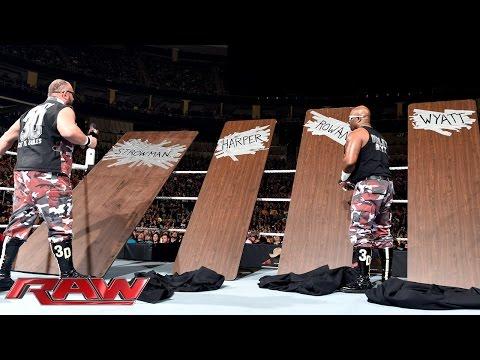Die Dudley Boyz Stellen Ihren Tag Team Partner Gegen Die Wyatts Vor: Raw – 30. November 2015