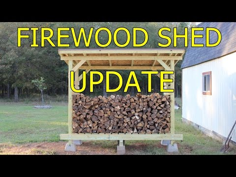 Firewood Shed - Update