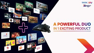Tata Sky Binge Plus | Get a powerful duo in 1 exciting product